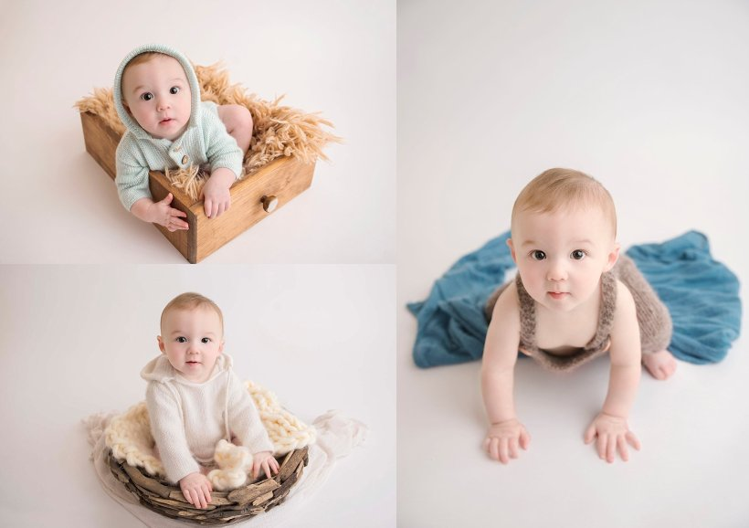 Fort McMurray professional photographer, Fort McMurray baby photographer, Sitter Session, baby portraits