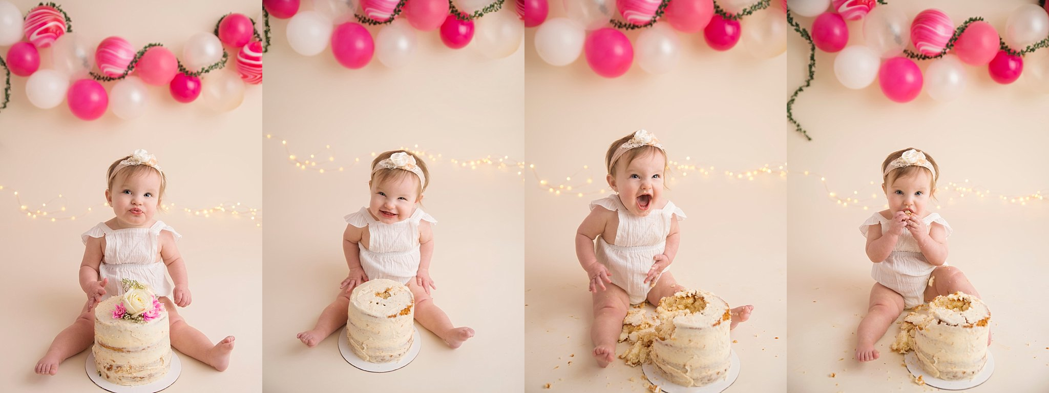 Fort McMurray photographer, Fort McMurray child photographer, cake smash session, cake smash photos, naked cake