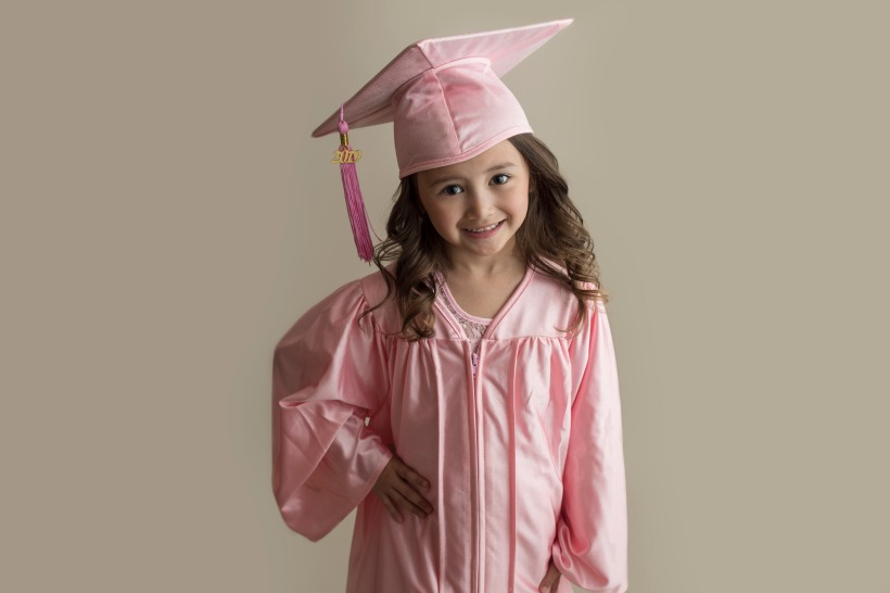 Fort McMurray child photographer, Fort McMurray photographer, Kindergarten Graduation session, Kinder Grad session, cap and gown, kindergarten