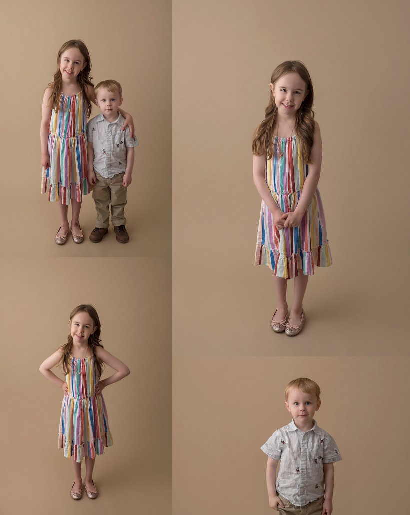 Amie Roberts Photography, Fort McMurray child photographer, Fort McMurray photographer, sibling photos, brother and sister, Kinder Grad, little brother, portraits